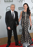 Michael Douglas et Catherine Zeta-Jones Photos stock