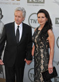Michael Douglas et Catherine Zeta-Jones Images stock