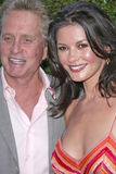 Catherine Zeta-Jones, Michael Douglas Arkivfoto