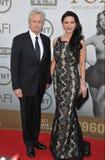 Michael Douglas u. Catherine Zeta-Jones lizenzfreies stockbild