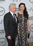 Michael Douglas y Catherine Zeta-Jones Fotografía de archivo