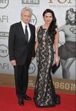 Michael Douglas y Catherine Zeta-Jones Imagen de archivo