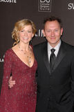 Michael Emerson, Carrie Preston stock afbeeldingen