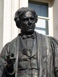 Michael Faraday雕象  库存照片