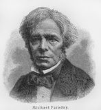 Michael Faraday Royalty Free Stock Photo