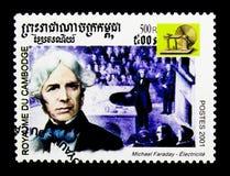 Michael Faraday, Millennium serie, circa 2001 Stock Foto