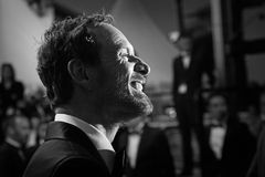 Michael Fassbender. Attends the 'Macbeth' Premiere during the 68th annual Cannes Film Festival on May 23, 2015 in Cannes, France Stock Photo