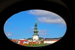 Michael Gate, part of the medieval fortifications of old town in Bratislava, Slovakia