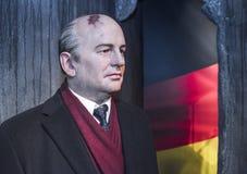 Michael Gorbachev-Wachsfigur Lizenzfreies Stockfoto