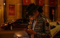 Michael Jackson foto de archivo
