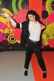Michael Jackson an der Madame Tussauds in Wien Stockbilder