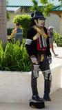 Michael Jackson impersonator, La Romana, Dominikanska republiken Royaltyfri Foto