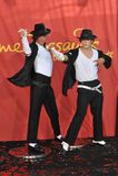 Michael Jackson, Joby Rogers Imagem de Stock Royalty Free