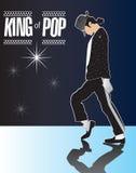 Michael Jackson, König von Knall-Denkmal 2 in den Serien! lizenzfreie abbildung