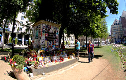 Michael Jackson memorial in Munich Royalty Free Stock Photography