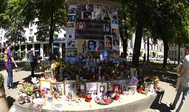 Michael Jackson memorial in Munich Stock Image