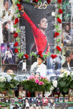 Michael Jackson Memorial Munich Royaltyfri Foto