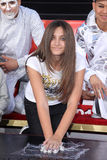 Michael Jackson, Paris Jackson Stock Photos