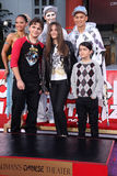 Michael Jackson, Paris Jackson, Prince, Blanket Jackson, Prince Jackson Royalty Free Stock Photo