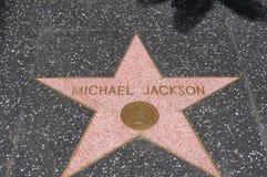 Michael Jackson, paseo de la fama imagen de archivo libre de regalías