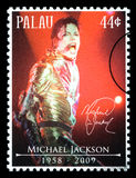 Michael Jackson Postage Stamp Royalty-vrije Stock Foto