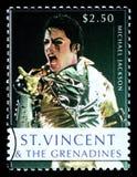 Michael Jackson Postage Stamp Fotografia Stock