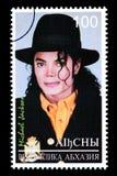 Michael Jackson Postage Stamp foto de archivo libre de regalías