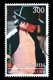 Michael Jackson Postage Stamp Royalty-vrije Stock Foto's