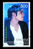 Michael Jackson Postage Stamp imagen de archivo