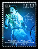 Michael Jackson Postage Stamp Stock Images