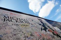 Michael Jackson's memorial Stock Images