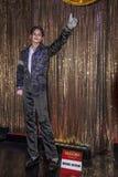 Michael Jackson&-x27; s wosku postać przy wosku muzeum zdjęcia stock