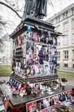 Michael Jackson Shrine Arkivfoton