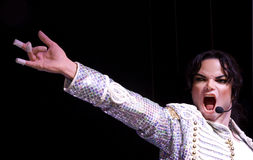 Michael Jackson Stock Photo