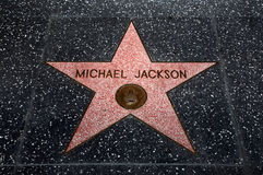 The Michael Jackson star Royalty Free Stock Images
