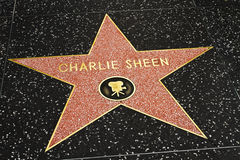 Michael Jackson Star on the Hollywood Walk Royalty Free Stock Photography