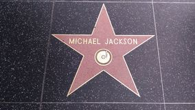 Michael Jackson Star stock image