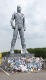Michael jackson statue Royalty Free Stock Photo