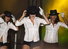 Michael Jackson Tribute Stock Photography