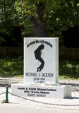 Michael Jackson tribute - RAW format Royalty Free Stock Image