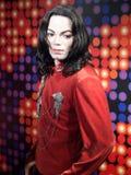 Michael Jackson vaxar statyn Arkivbilder