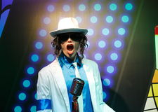 Michael Jackson Wax Figure Royaltyfria Foton