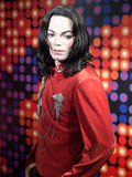 Michael Jackson wax statue. At the famous Madame Tussaud's museum in Bangkok, Thailand Stock Images