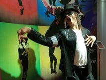 Michael Jackson wax statue Stock Image