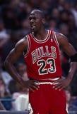 Michael Jordan Of The Chicago Bulls Stock Photo