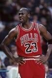 Michael Jordan Chicago tjurar arkivfoto
