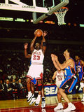 Michael Jordan Chicago tjurar fotografering för bildbyråer