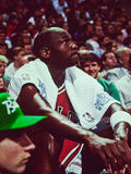 Michael Jordan Chicago tjurar Royaltyfria Foton
