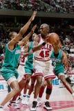 Michael Jordan Chicago tjurar royaltyfri foto
