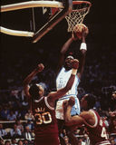 Michael Jordan North Carolina Tar Heel Stock Images